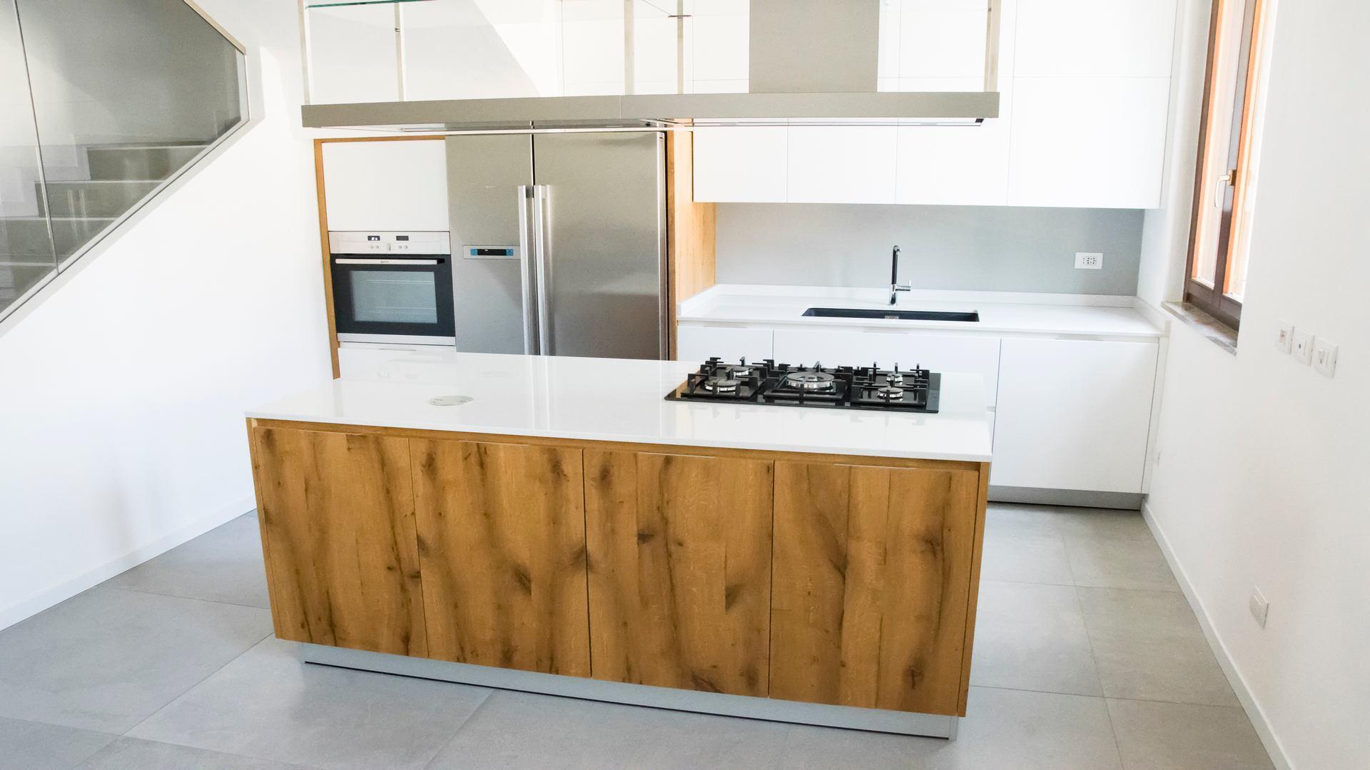 cucina su misura Xera woodline 2 1